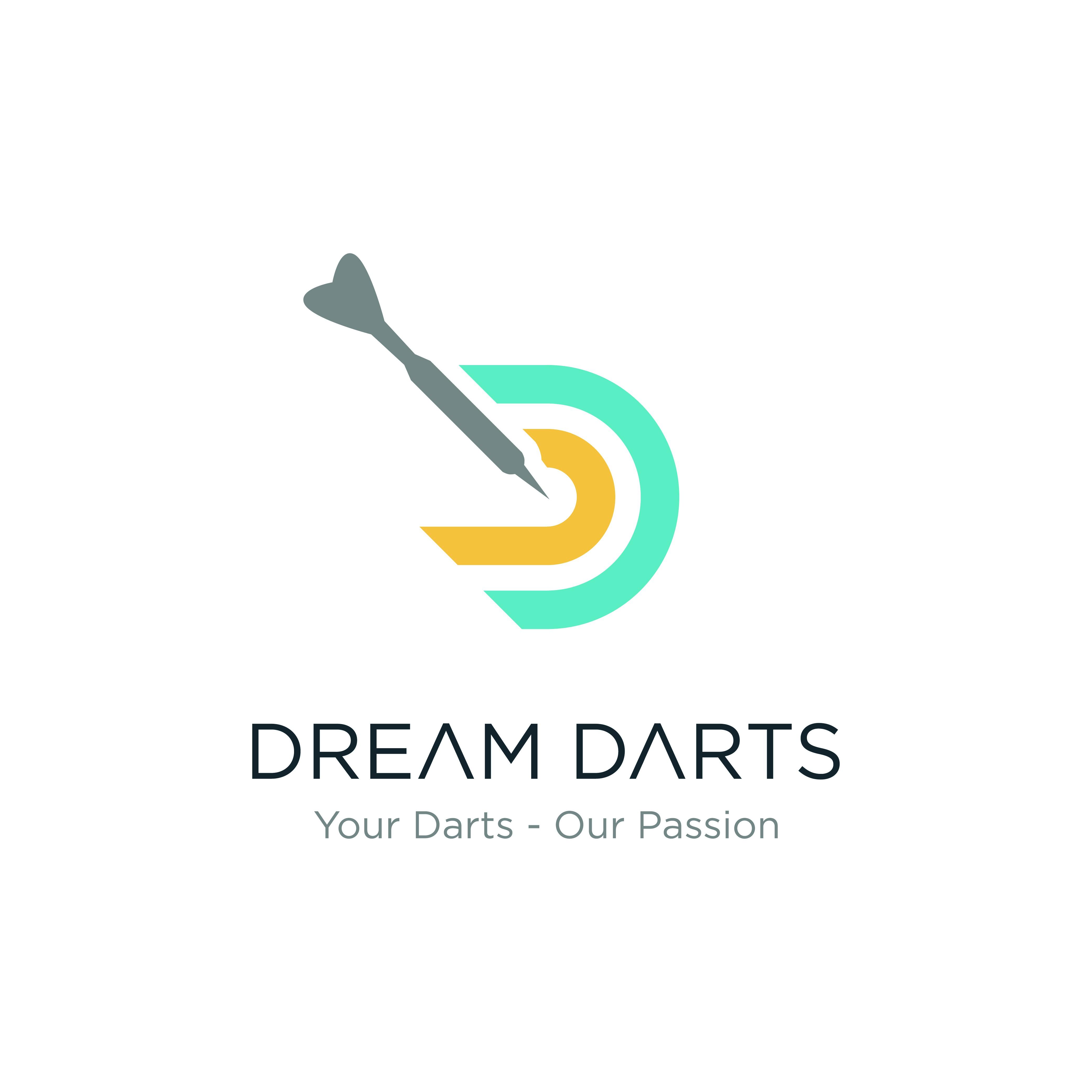 Wir brauchen ein aussagekräftiges Logo für unseren Dartshop