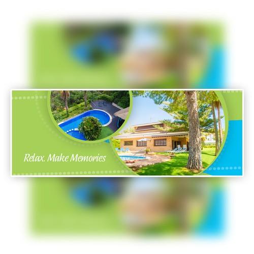 Facebook Cover - For Vila Rental
