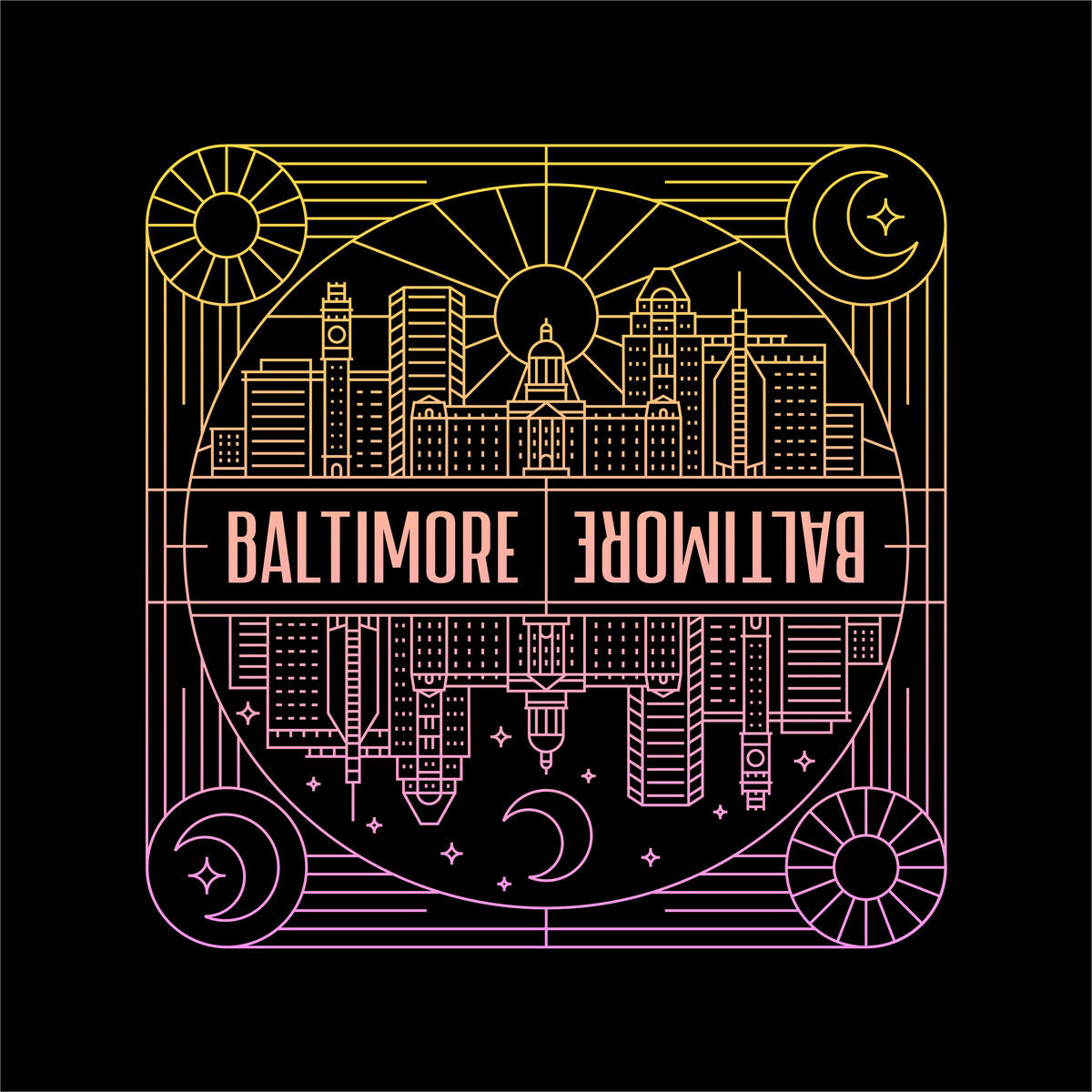 Baltimore Stickers!