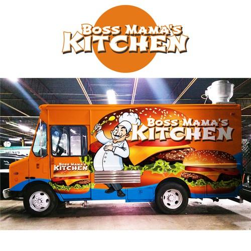 Food Truck wrap design