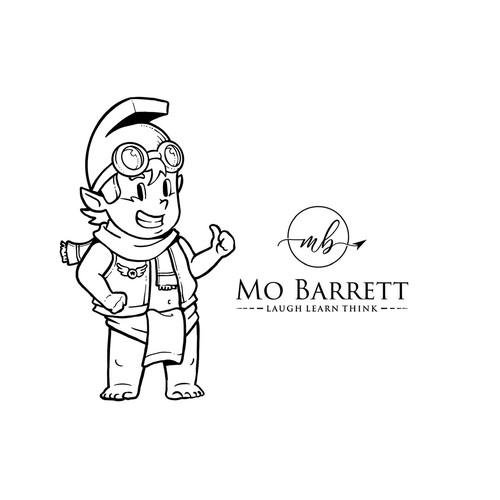 Mascot Mo Barret