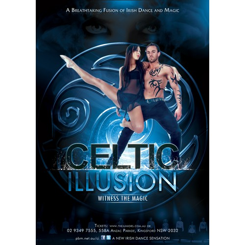 Celtic Illusion needs a new art or illustration