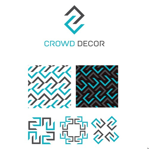 Logo and Pattern for Crowd Decor