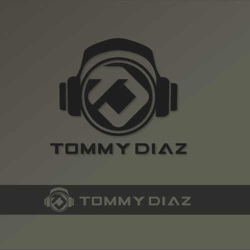 DJ Logo design for Tommy Diaz