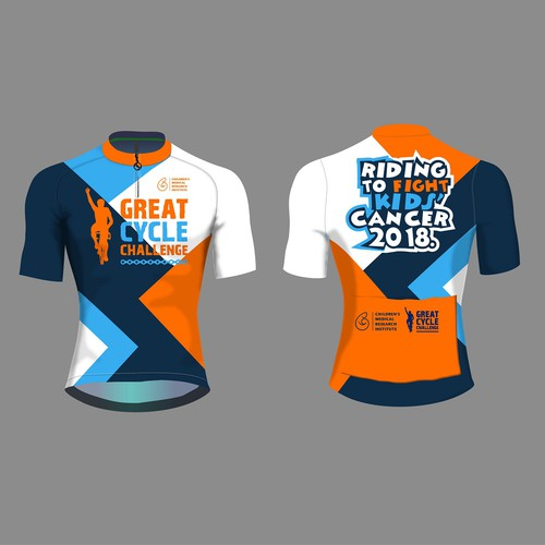 Cycling jersey - fundraising event