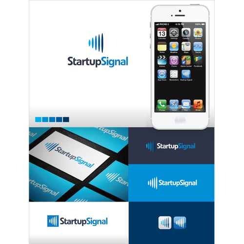 Create the next logo for StartupSignal