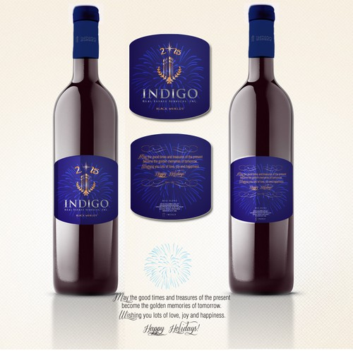 "Design our Wine Label - 3.87""L X 4.62""H"