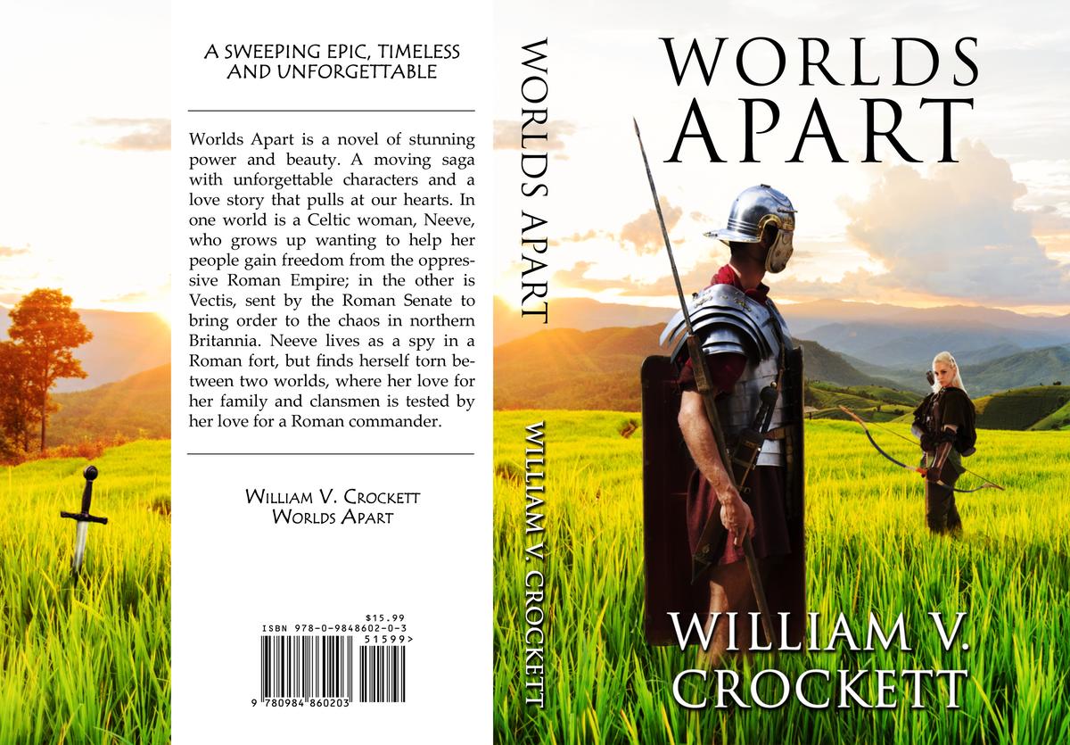 Novel Cover: Worlds Apart