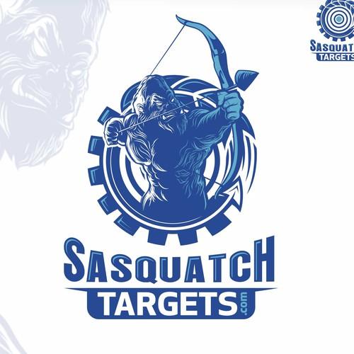 SASQUATCH mascot logo