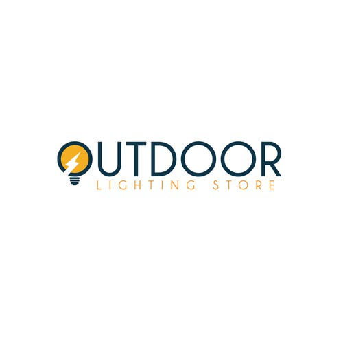 Bold logo design for OUTDOOR lighting store