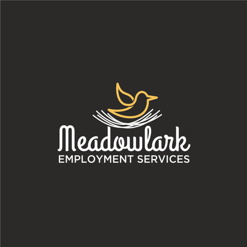 Logo for an employment services organization