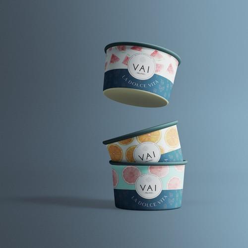 Ice Cream Cup Design