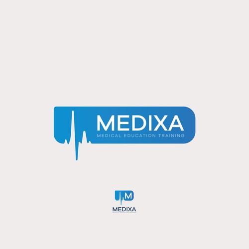 Medixa medical training program identity