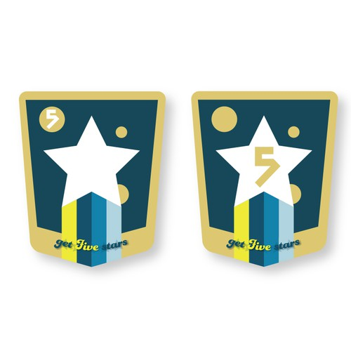 Design some cool stickers for GetFiveStars customers