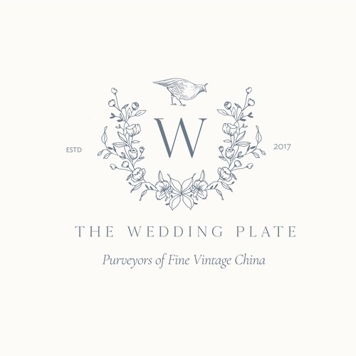The Wedding Plate Brand/Website Design