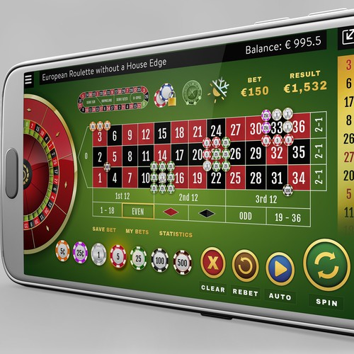 Roulette Table & Stats for Mobile Devices in 2D Format