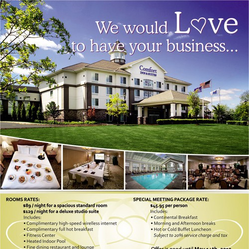 postcard or flyer for Comfort inn & Suites , Nanuet and The Regency Conference Center