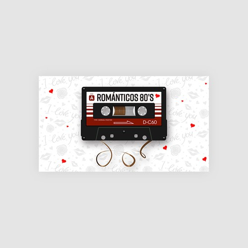 You Tube Video Cover - Romantic Music 80s