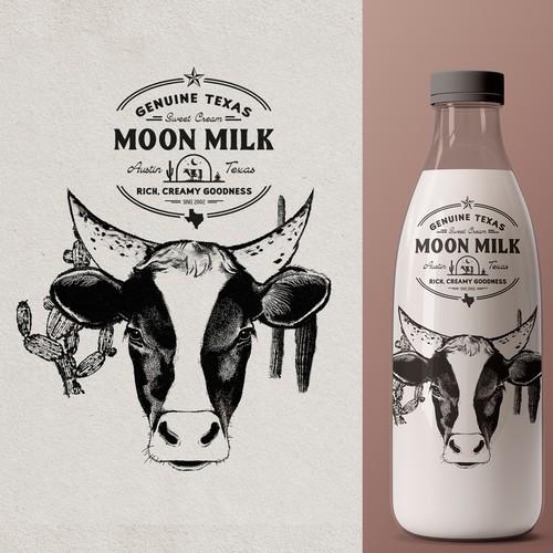 Logo for Moon Milk