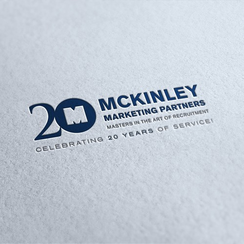 Create a 20th Anniversary Edition Logo for McKinley Marketing Partners