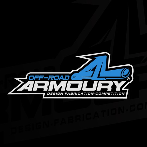 """racing style """"OFF-ROAD ARMOURY"""""""