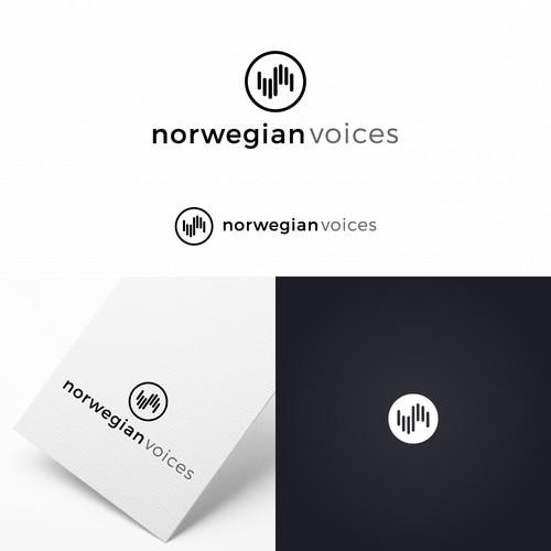 Logo concept for Norwegian Voices