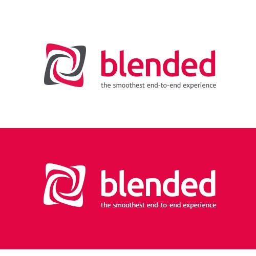 Design a top-notch logo for tech+design boutique blended.io