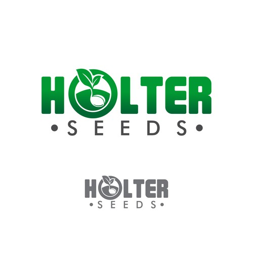 "Bold logo concept for ""HOLTER SEEDS"""