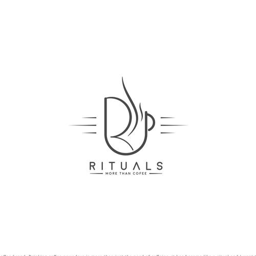 Rituals logo design for a Bar & Restaurant (Coffee House)