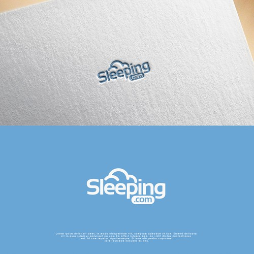 Logo for sleeping products