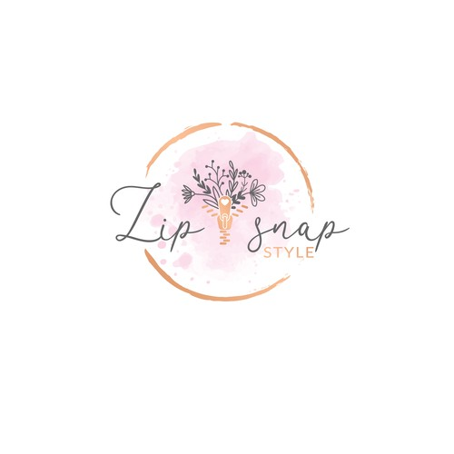 Feminine logo design for clothing business