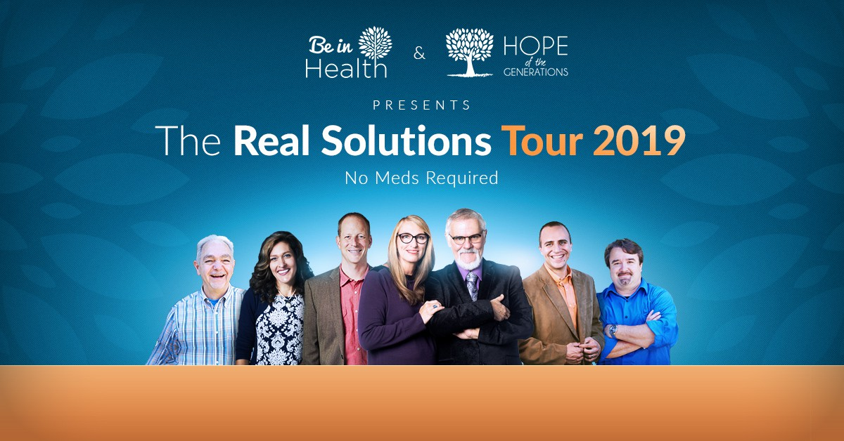 Create a conference tour banner be in health
