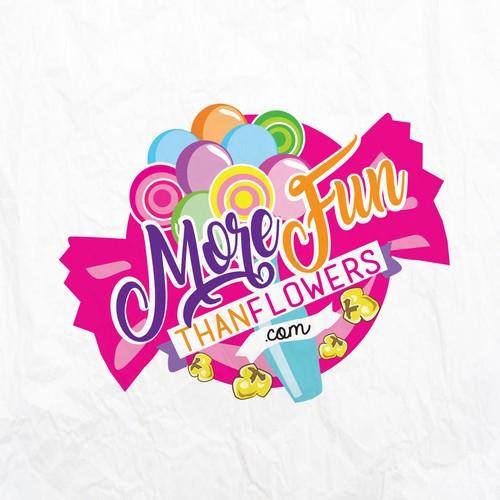 MoreFunthanFlowers.com logo