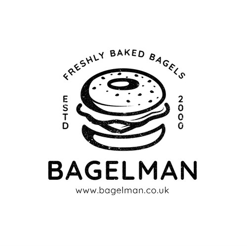 Bagelman Logo Design