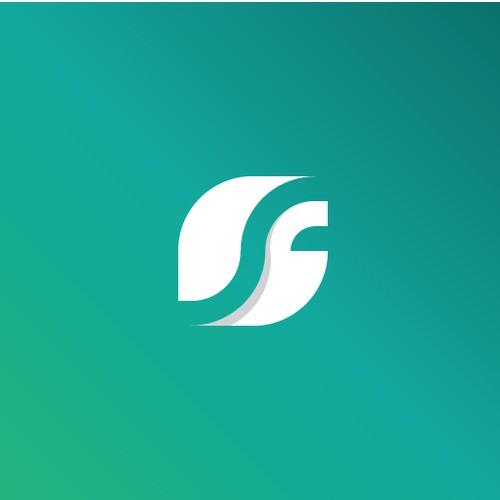 Modern logo for digital marketing