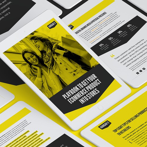 Ecommerce Ebook design