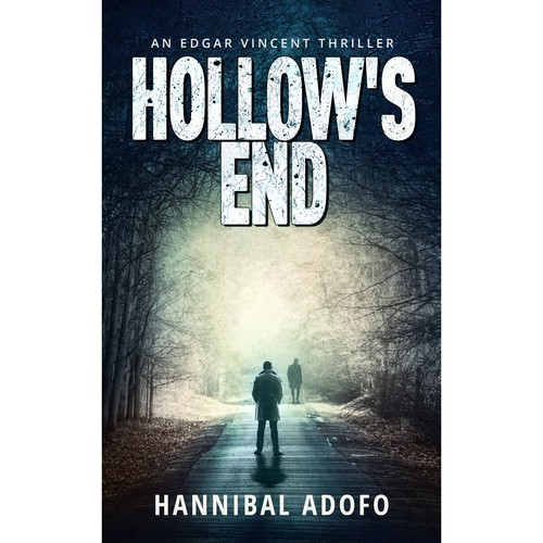 Ebook cover. Hollow's End.
