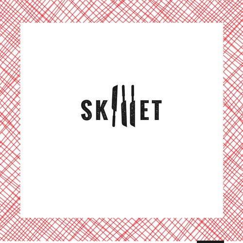 Food truck logo for Skillet