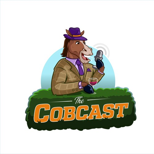 The Cobcast logo