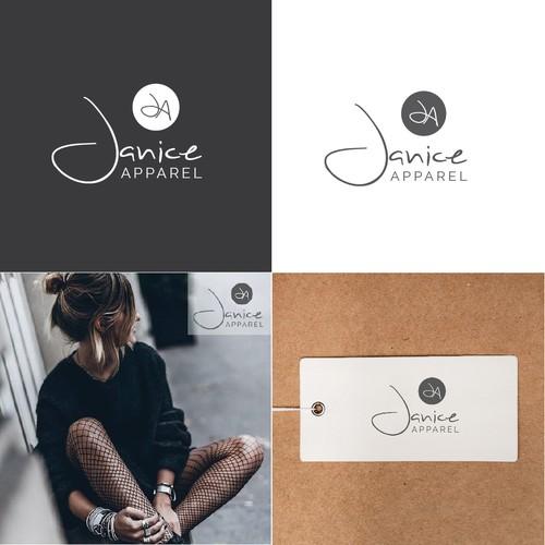 a brand name logo for apparel company