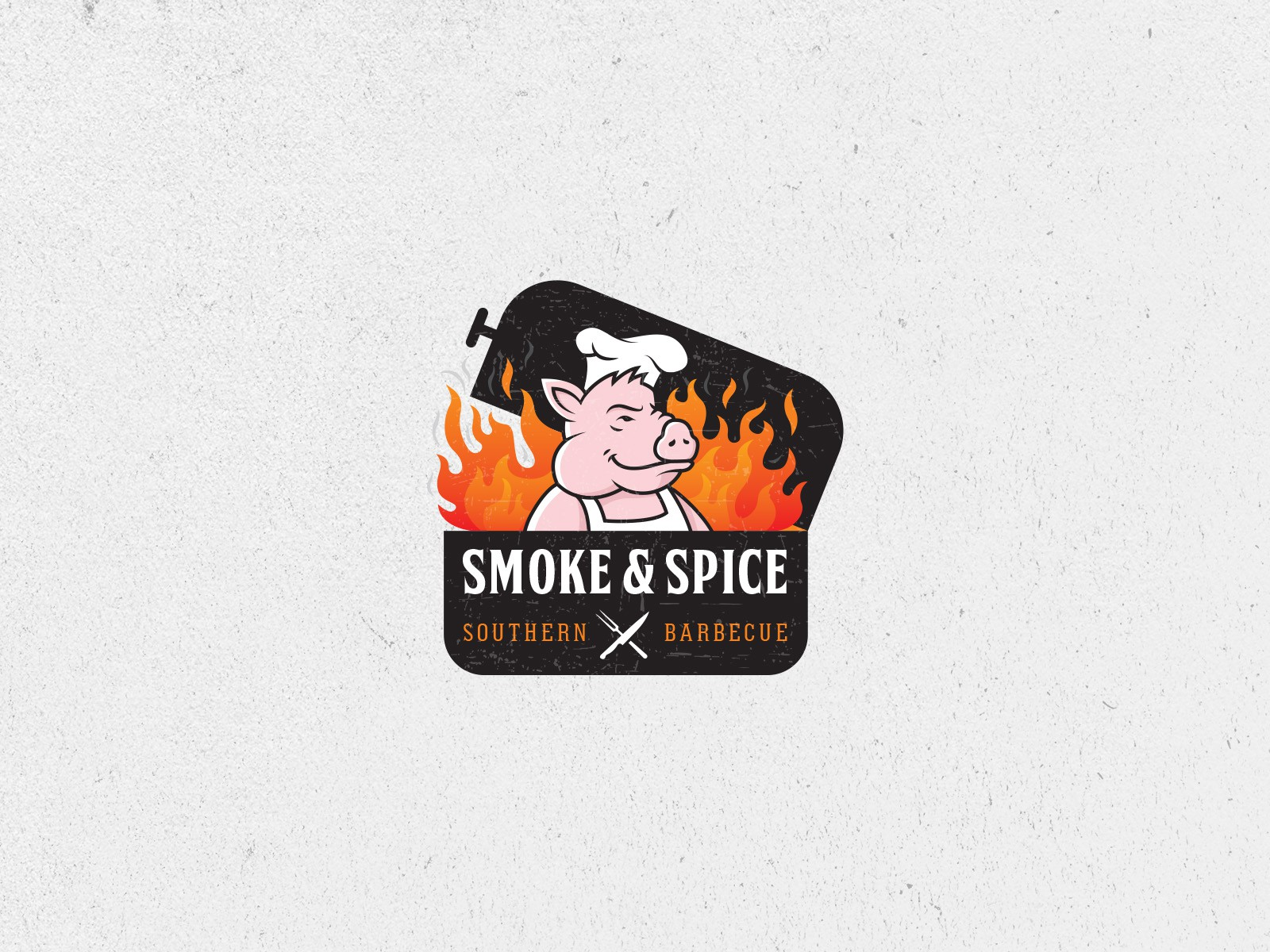 Smoke & Spice Southern BBQ Restaurant looking for fun, modern and playful new logo!