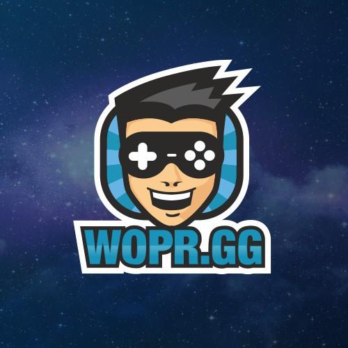 WOPR.GG Logo Design