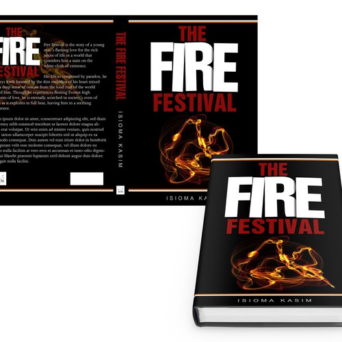 "Book Cover Design: Sophisticated, Deep, Transformation - ""The Fire Festival"""