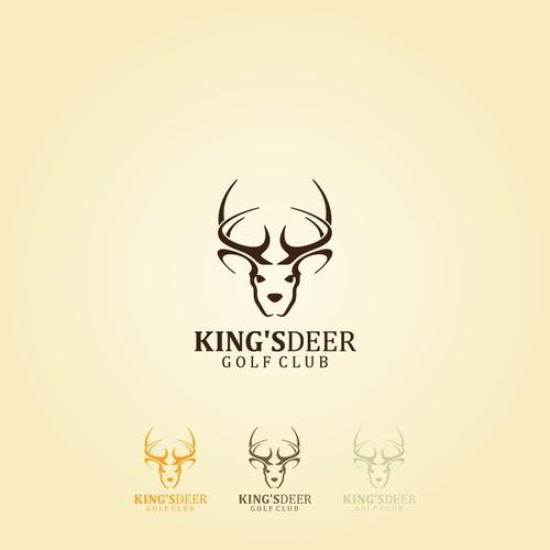 King's Deer Golf Club Logo design