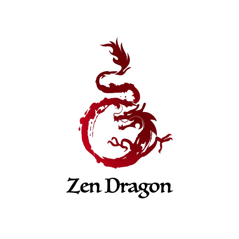 Martial Arts Dragon Logo