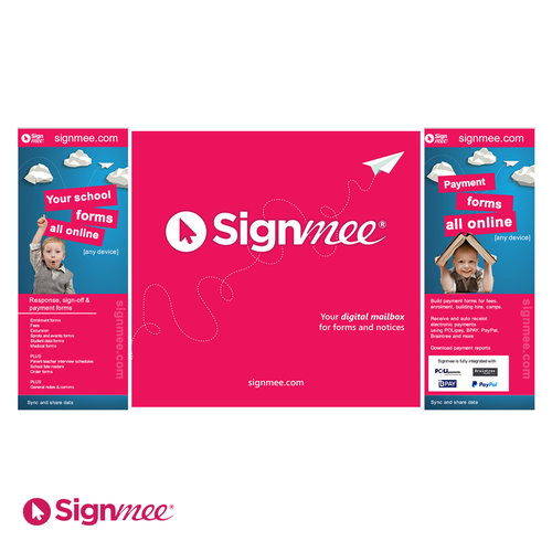 Exhibition banner for signmee.com