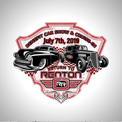 Design a Cool Shirt for the Return To Renton Car Show