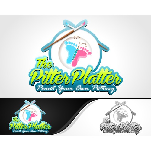 logo for The Pitter Platter
