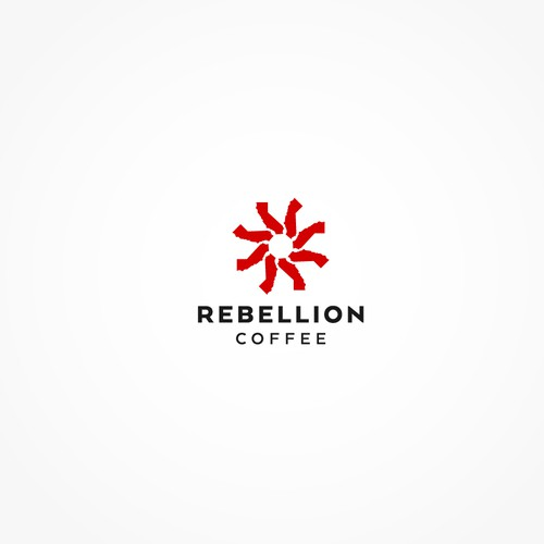Urban art inspired logo for coffee roaster in California