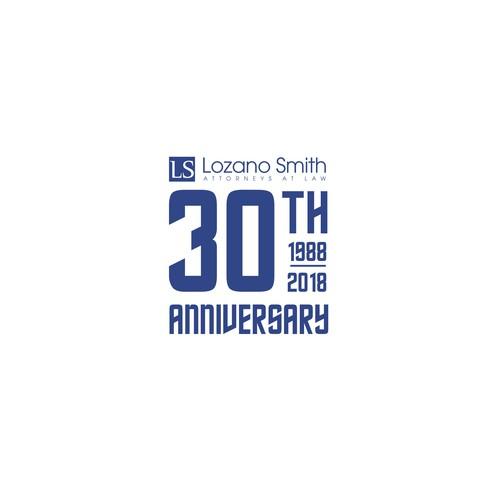 30 th Anniversary logo